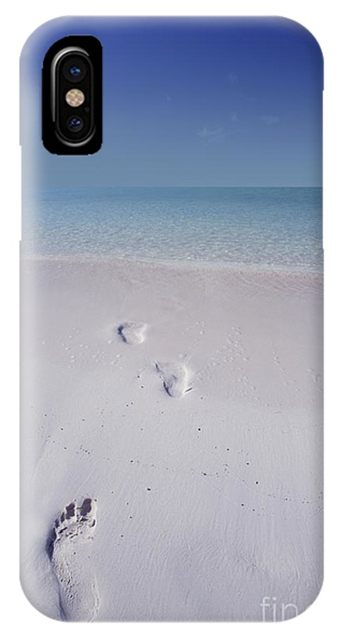 Caribbean IPhone X Case featuring the photograph Later... by Marco Crupi