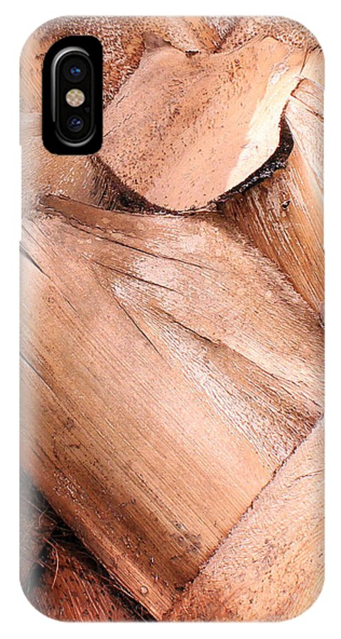 Nature IPhone X Case featuring the photograph Layers by Lisa Wagner