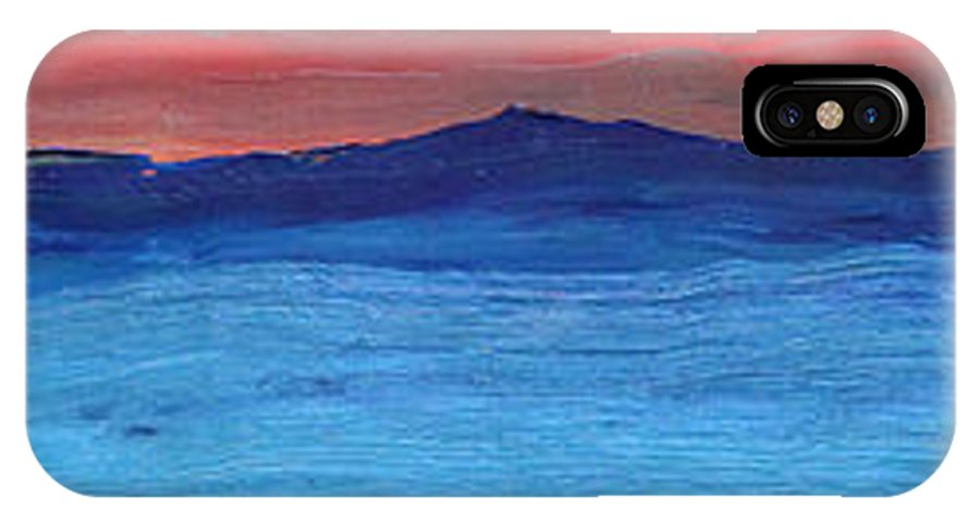 Abstract IPhone Case featuring the painting Leaving - Sold by Paul Anderson