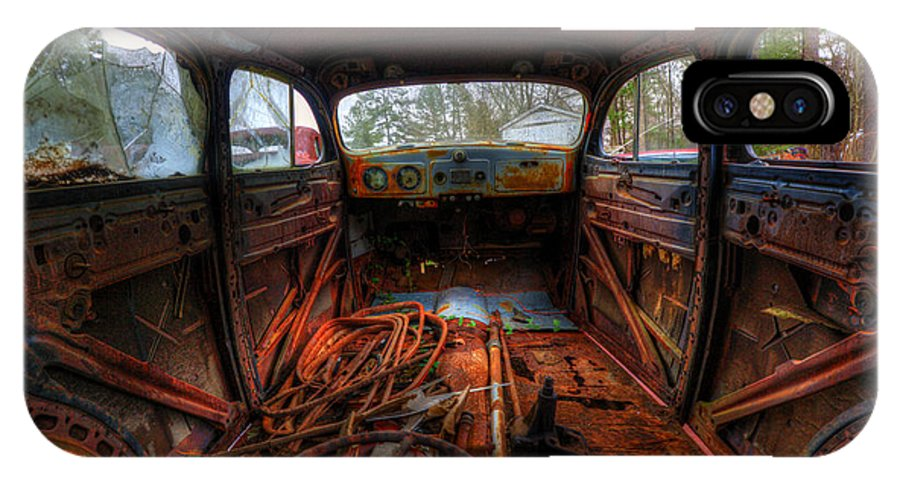 Cars IPhone X Case featuring the photograph Legroom by Randy Brown