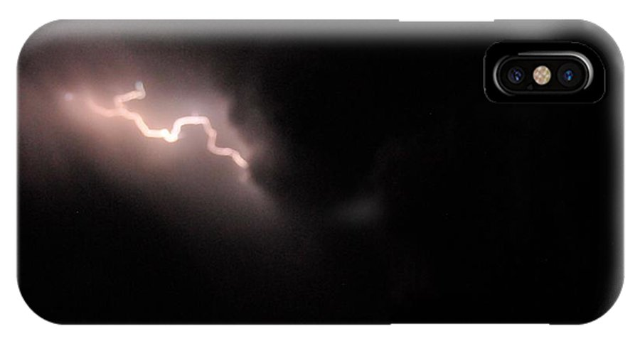 Weather IPhone X Case featuring the photograph Let It Go by David Pennington Sr