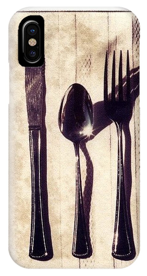 Forks IPhone Case featuring the photograph Lets Eat by Jane Linders