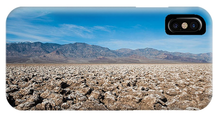 Death Valley IPhone X Case featuring the photograph Let's Play Golf by George Buxbaum