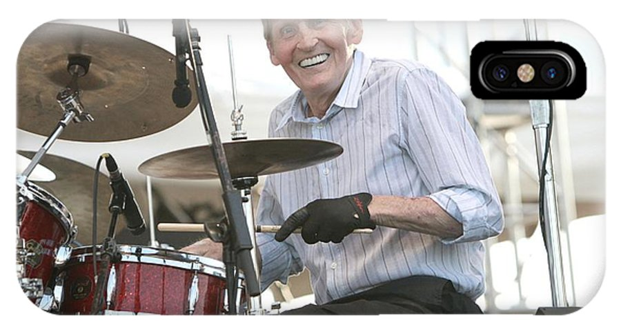 Blues IPhone X Case featuring the photograph Levon Helm Band by Concert Photos