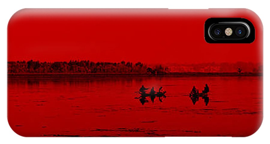 Life IPhone X Case featuring the photograph Life On Boats by Bliss Of Art