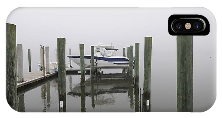 Fog IPhone X Case featuring the photograph Lifted Up Into The Fog by Dale Powell