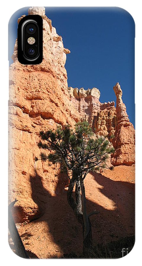 Light IPhone X Case featuring the photograph Light And Shadow In The Bryce Canyon by Christiane Schulze Art And Photography