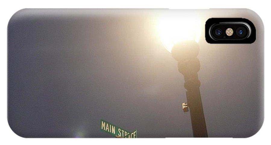 Street Light IPhone X / XS Case featuring the photograph Light Post by Steven Woodard
