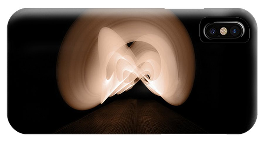 Lightpainting IPhone X Case featuring the photograph Light Swirl by Beverly Cash