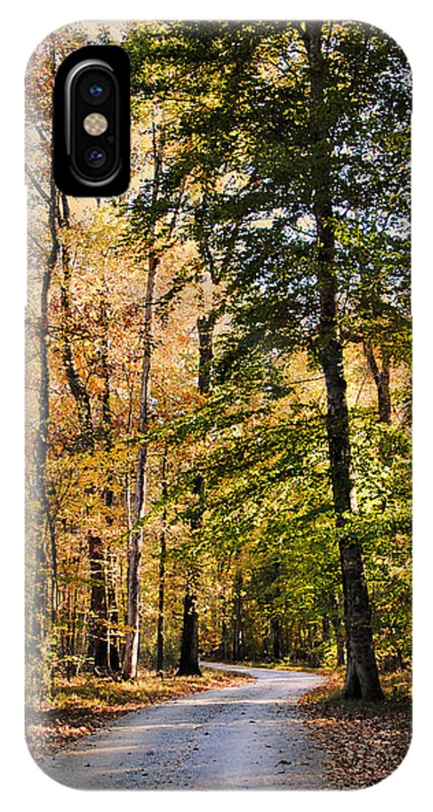 Autumn IPhone X Case featuring the photograph Light Your Way by Jai Johnson