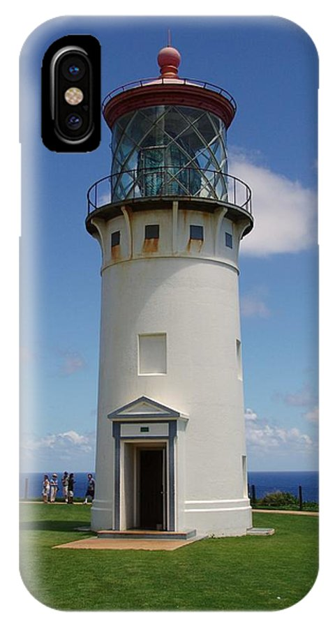 Hawaii IPhone X Case featuring the photograph Lighthouse In Paradise by Eric Swan