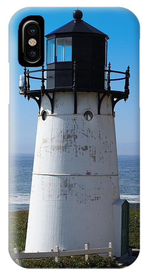 Lighthouse IPhone X Case featuring the photograph Lighthouse by Tony King