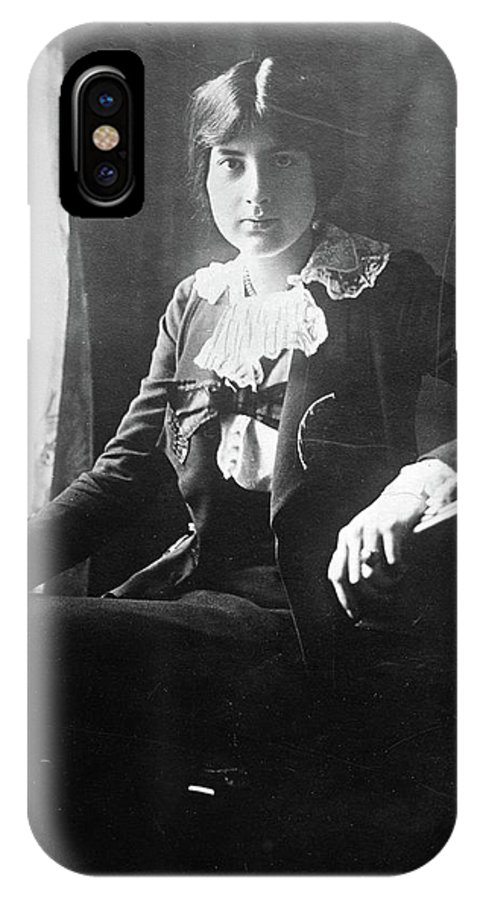 1918 IPhone X Case featuring the photograph Lili Boulanger (1893-1918) by Granger