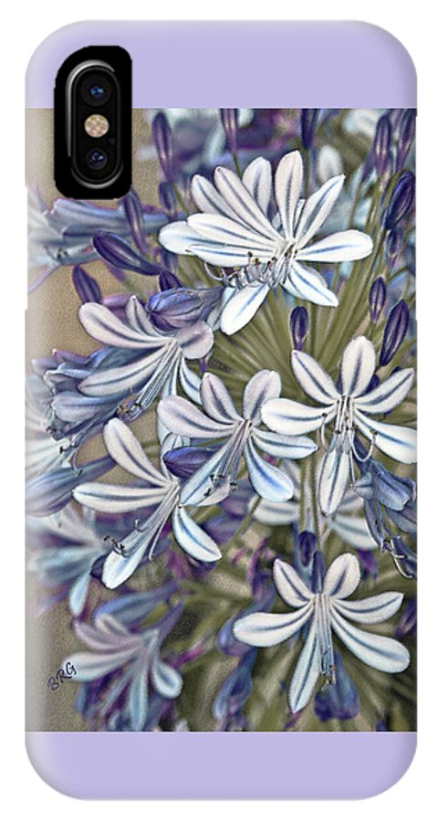 Lily Of The Nile IPhone X Case featuring the photograph Lily Of The Nile by Ben and Raisa Gertsberg