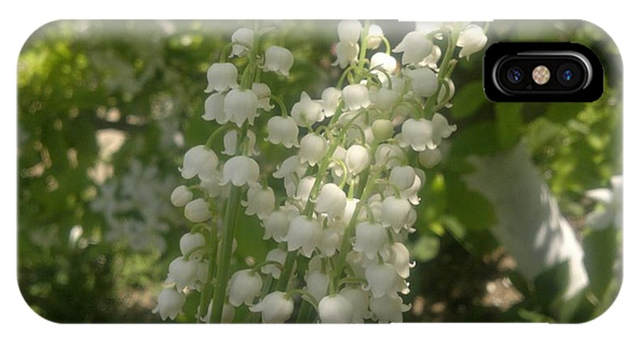 Lily Of The Valley IPhone X Case featuring the photograph White Lily Of The Valley Bouquet by Stefan Silvestru
