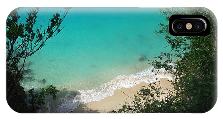 Anguilla IPhone X / XS Case featuring the photograph Little Bay Latitude by Kristin Bourne