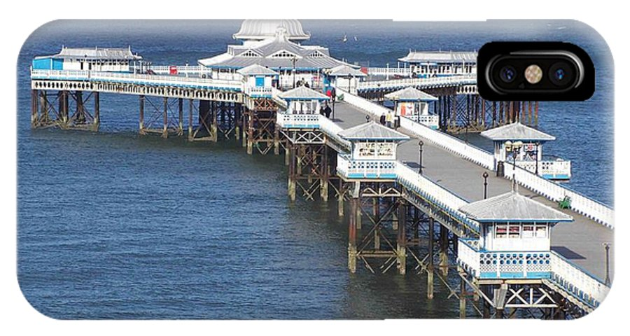 Piers IPhone X Case featuring the photograph Llandudno Pier by Christopher Rowlands