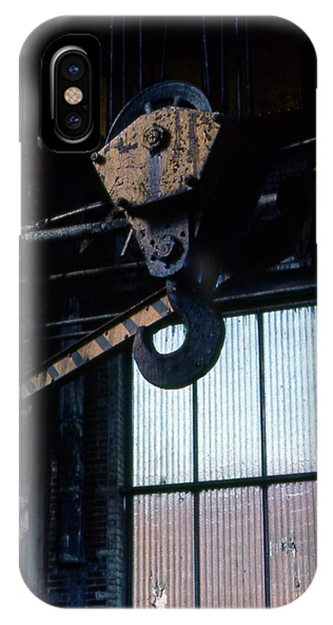 Hooks IPhone X Case featuring the photograph Locomotive Hook by Richard Rizzo