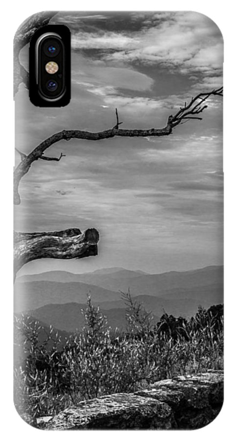 2012 IPhone X Case featuring the photograph Lone Tree by Deidre Elzer-Lento