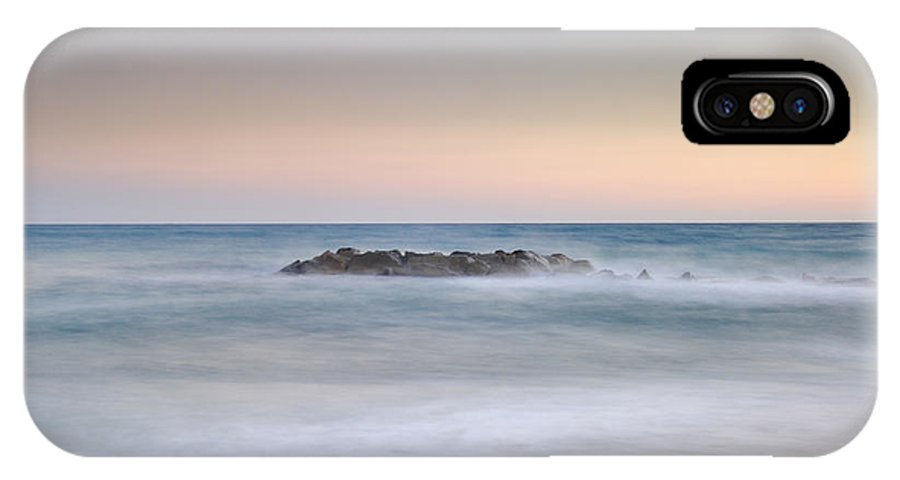 Island IPhone X Case featuring the photograph Lonely Island by Guido Montanes Castillo