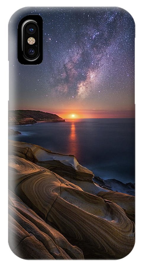 Landscape IPhone X Case featuring the photograph Lonely Planet by Tim Fan