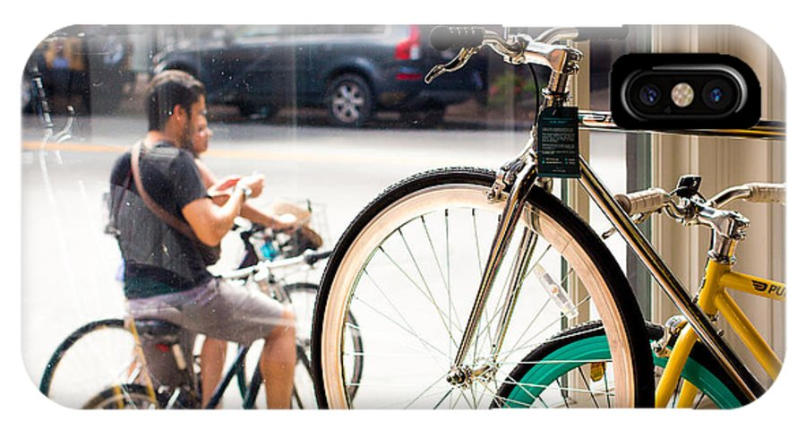 Bicycle IPhone X Case featuring the photograph Longing To Go For A Ride by S Cass Alston