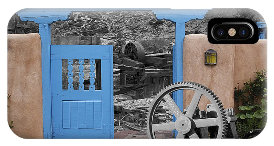 Santa Fe And Taos IPhone X Case featuring the photograph Looking Back Through History by Greg Wells