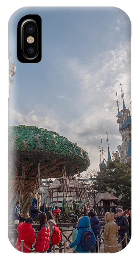 IPhone X Case featuring the photograph Lotte by Jack Teh HM