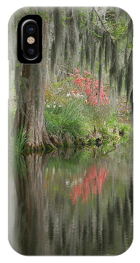 Lowcountry IPhone X / XS Case featuring the photograph Lowcountry Series I by Suzanne Gaff
