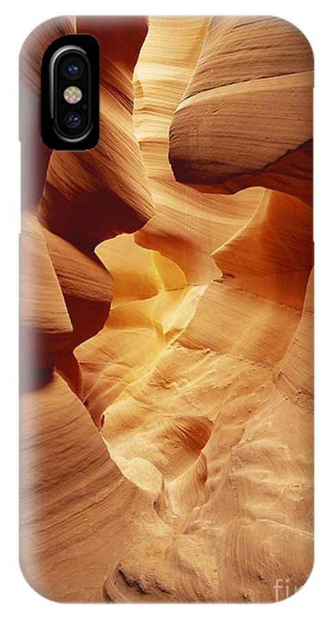 Lower Antelope Canyon IPhone X / XS Case featuring the photograph Lower Antelope Canyon, Arizona by David Davis