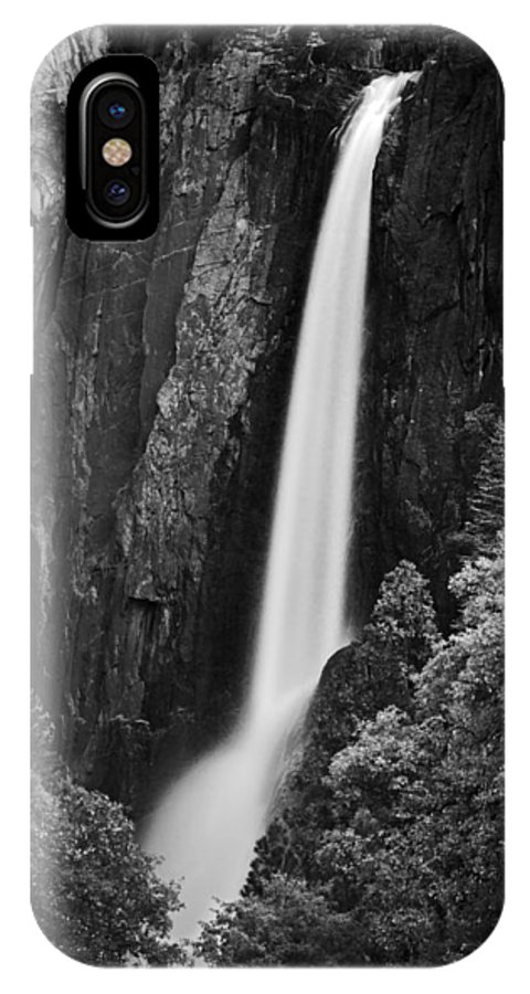 Orias IPhone X Case featuring the photograph Lower Yosemite Falls by David Orias