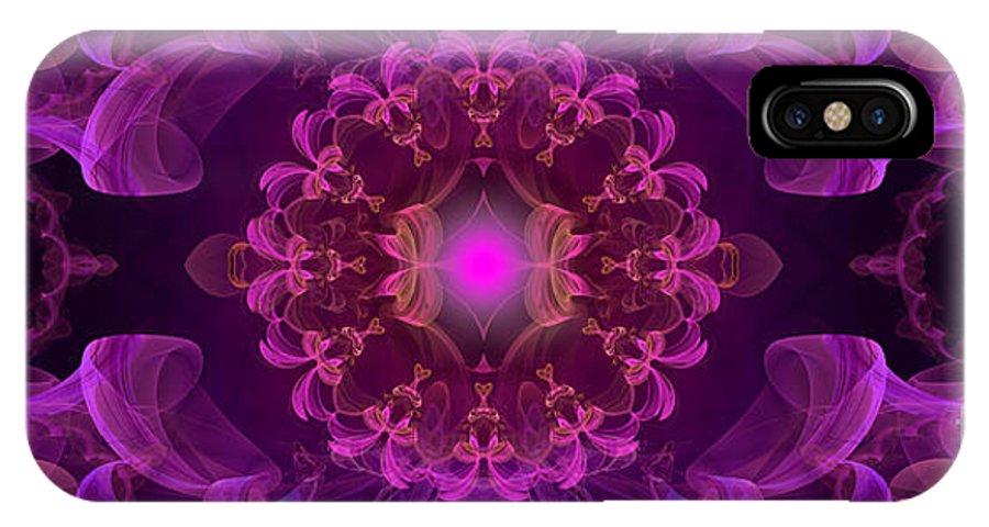 Hanza Turgul IPhone X Case featuring the digital art Lucid Dreams by Hanza Turgul