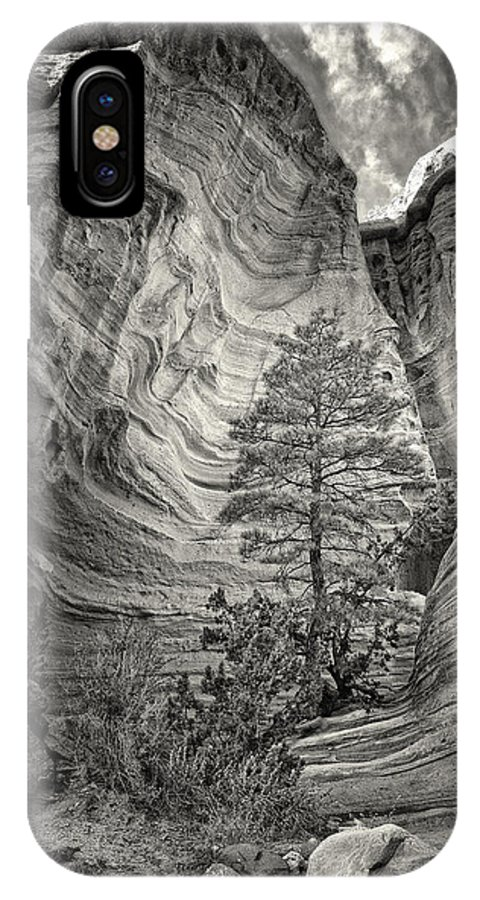 Tent Rocks IPhone X Case featuring the photograph Luminous by Mark Anderson
