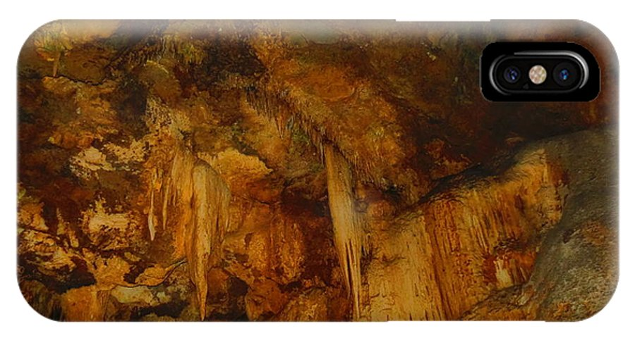 Cavern IPhone X Case featuring the photograph Lura Cavern by S Blackhawk