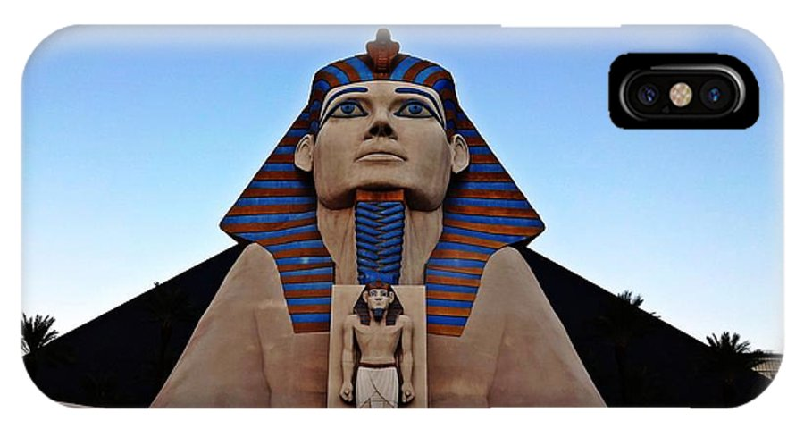 Luxor IPhone X Case featuring the photograph Luxor by James Markey