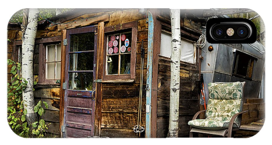 Colorado IPhone X Case featuring the photograph Luxury Ski Lodge In Telluride Co Dsc07461 by Greg Kluempers