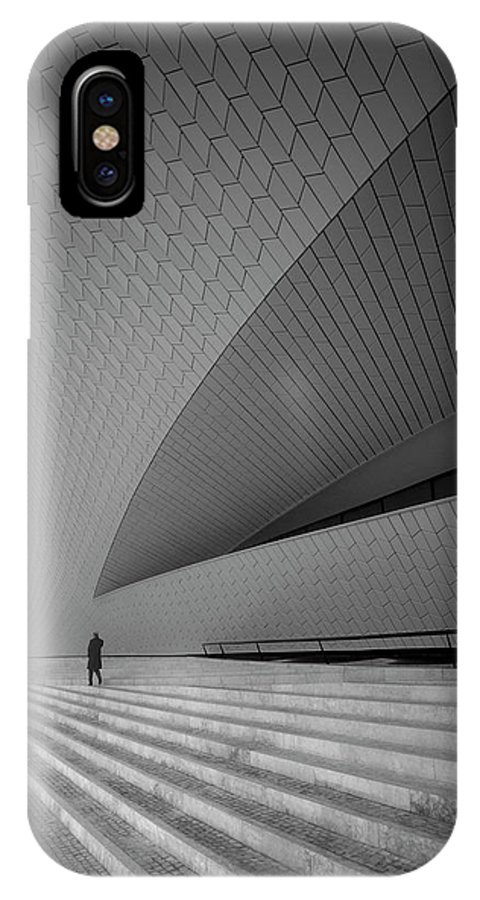 Architecture IPhone X Case featuring the photograph Maat by Fernando Jorge Gon?alves