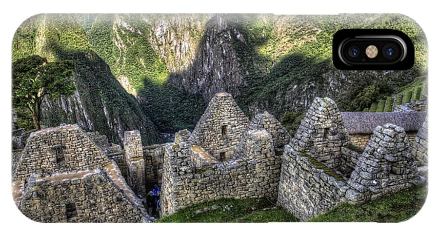 Macchu Picchu IPhone X Case featuring the photograph Macchu Picchu - Peru - South America by Jon Berghoff