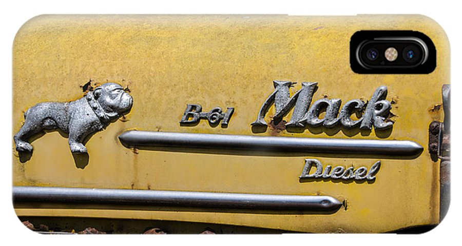 Mack IPhone X / XS Case featuring the photograph Mack B-61 Diesel by Bill Cannon