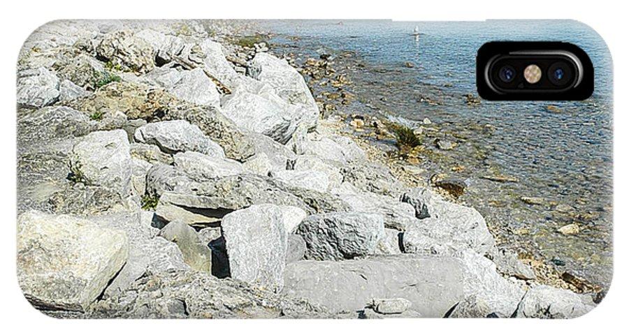 Mackinac Island Race IPhone X Case featuring the photograph Mackinac Island Race by LeeAnn McLaneGoetz McLaneGoetzStudioLLCcom