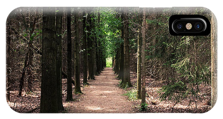 Trees IPhone X Case featuring the photograph Magical Path by Bruce Patrick Smith