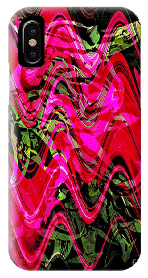 Digital Image IPhone X Case featuring the digital art Magnet by Yael VanGruber
