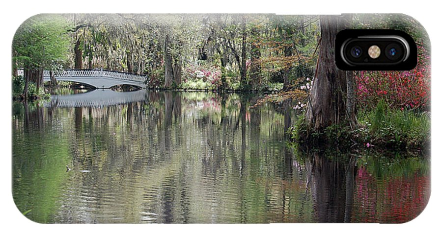 Magnolia Plantation Garden IPhone X Case featuring the photograph Magnolia Plantation Gardens Series II by Suzanne Gaff