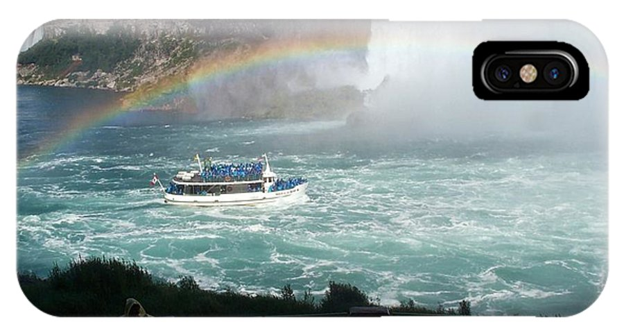 Boat IPhone Case featuring the photograph Maid Of The Mist -41 by Barbara McDevitt