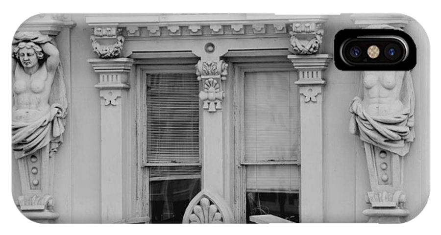 Best Known Architecture IPhone X Case featuring the photograph Main Window by Devinder Sangha