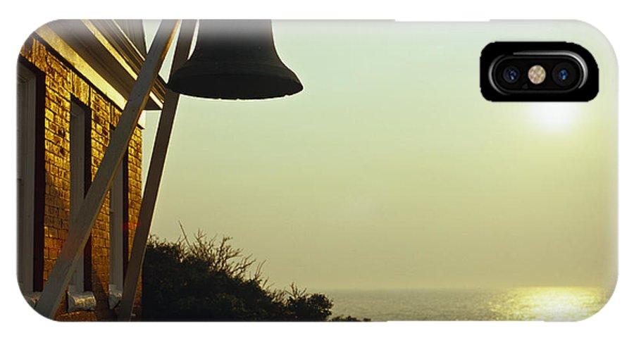 Lighthouse IPhone X Case featuring the photograph Maine Sunrise by Joseph Reid