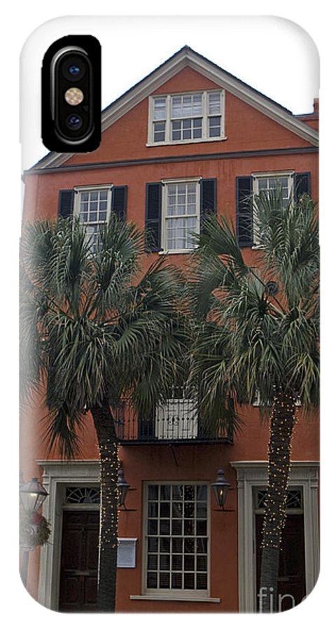 Major Peter Bocquet House IPhone X Case featuring the photograph Major Peter Bocquet House Charleston South Carolina by Jason O Watson