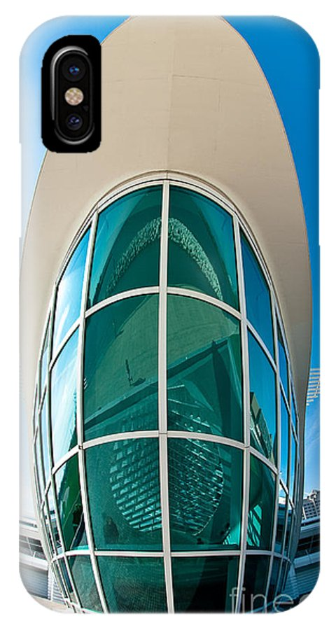 Milwaukee IPhone X Case featuring the photograph Mam Verticle by Steven Dunn