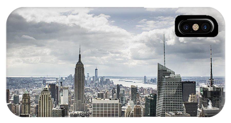 Manhattan IPhone X Case featuring the photograph Manhattan II by Tony Maduro