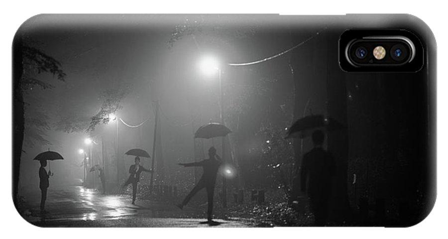 Umbrella IPhone X Case featuring the photograph Many Myself by Takashi Suzuki
